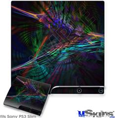 Sony PS3 Slim Skin - Ruptured Space