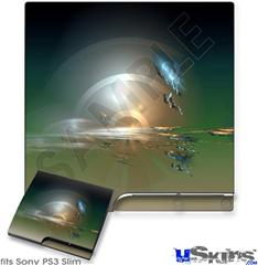 Sony PS3 Slim Skin - Portal