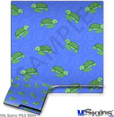 Sony PS3 Slim Skin - Turtles