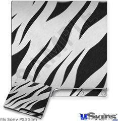 Sony PS3 Slim Skin - Zebra Skin