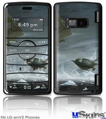 LG enV2 Skin - Behold The Machine