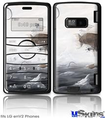LG enV2 Skin - The Rescue