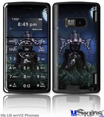 LG enV2 Skin - Kathy Gold - Bad To The Bone 1