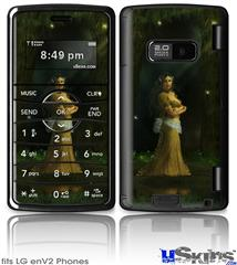 LG enV2 Skin - Kathy Gold - The Queen