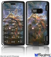LG enV2 Skin - Hubble Images - Mystic Mountain Nebulae