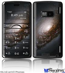 LG enV2 Skin - Hubble Images - Nucleus of Black Eye Galaxy M64