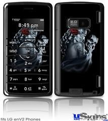 LG enV2 Skin - Two Face with Rose