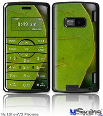 LG enV2 Skin - To See Through Leaves
