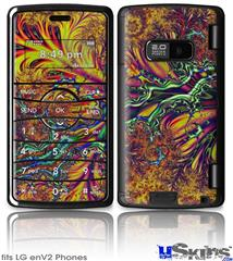 LG enV2 Skin - Fire And Water