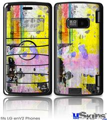 LG enV2 Skin - Graffiti Pop