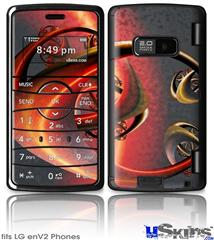 LG enV2 Skin - Sufficiently Advanced Technology
