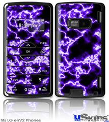 LG enV2 Skin - Electrify Purple