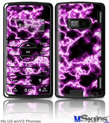 LG enV2 Skin - Electrify Hot Pink