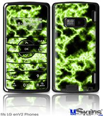 LG enV2 Skin - Electrify Green