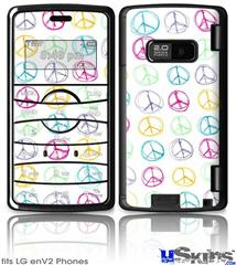 LG enV2 Skin - Kearas Peace Signs