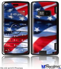 LG enV2 Skin - American USA Flag (Ole Glory)