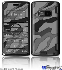 LG enV2 Skin - Camouflage Gray