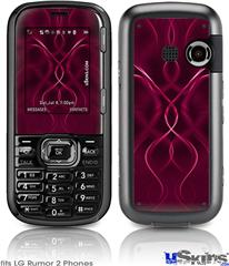LG Rumor 2 Skin - Abstract 01 Pink