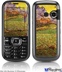 LG Rumor 2 Skin - Vincent Van Gogh A Meadow in the Mountains Le Mas de Saint-Paul