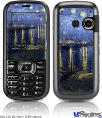 LG Rumor 2 Skin - Vincent Van Gogh Starry Night Over The Rhone