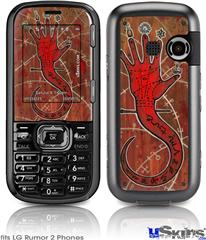 LG Rumor 2 Skin - Red Right Hand