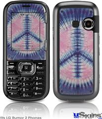 LG Rumor 2 Skin - Tie Dye Peace Sign 101