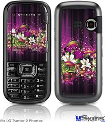 LG Rumor 2 Skin - Grungy Flower Bouquet