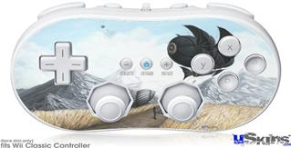 Wii Classic Controller Skin - The Clementine