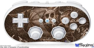 Wii Classic Controller Skin - The Temple