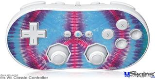 Wii Classic Controller Skin - Tie Dye Peace Sign 100