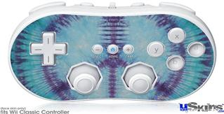 Wii Classic Controller Skin - Tie Dye Peace Sign 107