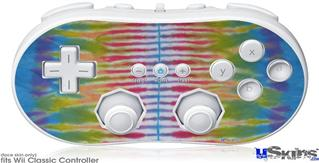 Wii Classic Controller Skin - Tie Dye Spine 102