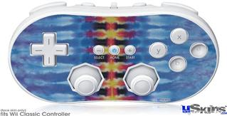 Wii Classic Controller Skin - Tie Dye Spine 104