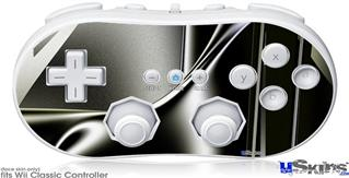 Wii Classic Controller Skin - Sinuosity 01