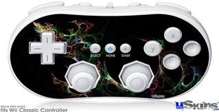 Wii Classic Controller Skin - Bubbles