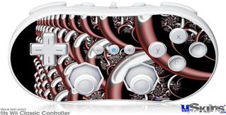 Wii Classic Controller Skin - Chainlink