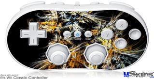 Wii Classic Controller Skin - Flowers