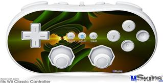 Wii Classic Controller Skin - Contact