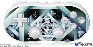 Wii Classic Controller Skin - Hall Of Mirrors