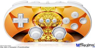 Wii Classic Controller Skin - Into The Light