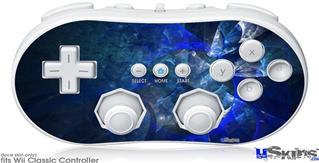 Wii Classic Controller Skin - Opal Shards