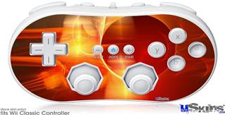Wii Classic Controller Skin - Planetary