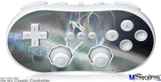 Wii Classic Controller Skin - Ripples Of Time