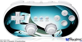 Wii Classic Controller Skin - Silently-2