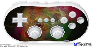 Wii Classic Controller Skin - Swiss Fractal