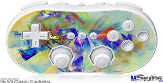 Wii Classic Controller Skin - Sketchy