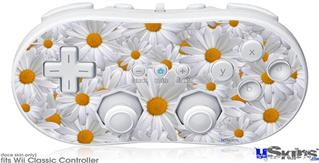Wii Classic Controller Skin - Daisys