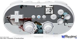 Wii Classic Controller Skin - With Excessive Devotion