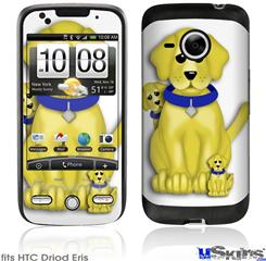 HTC Droid Eris Skin - Puppy Dogs on White