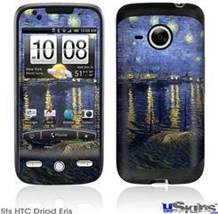 HTC Droid Eris Skin - Vincent Van Gogh Starry Night Over The Rhone